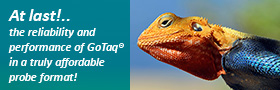 Save money on Taqman with GoTaq Probe Master Mixes!