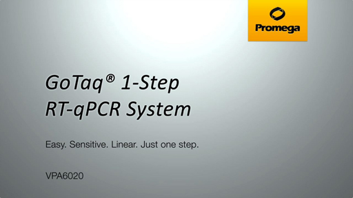 GoTaq 1 Step RTqPCR System Video